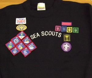 Scout uniform chest