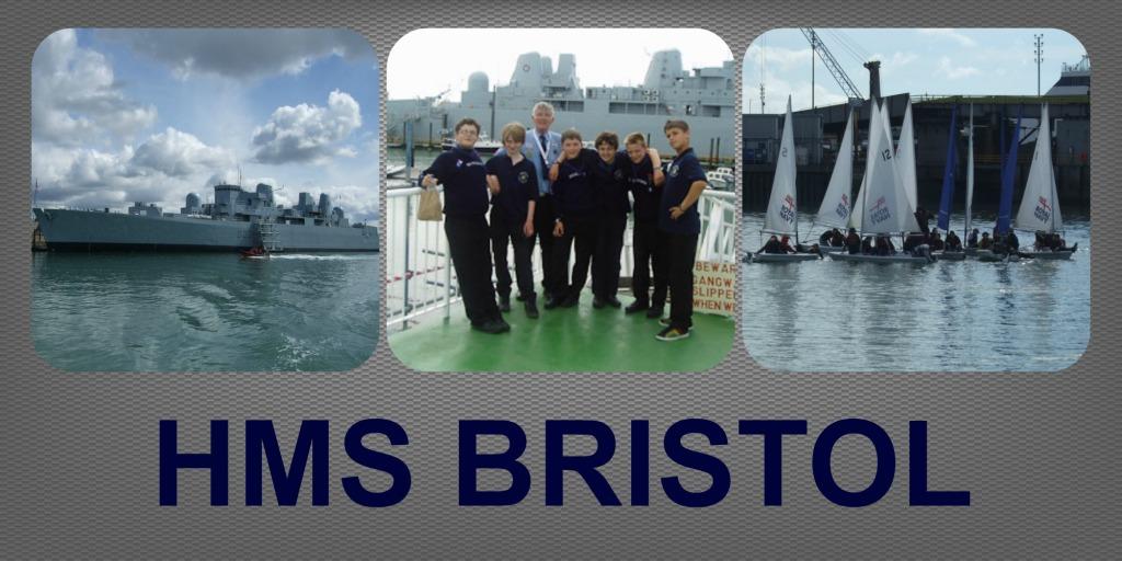 HMS BRISTOL COLLAGE