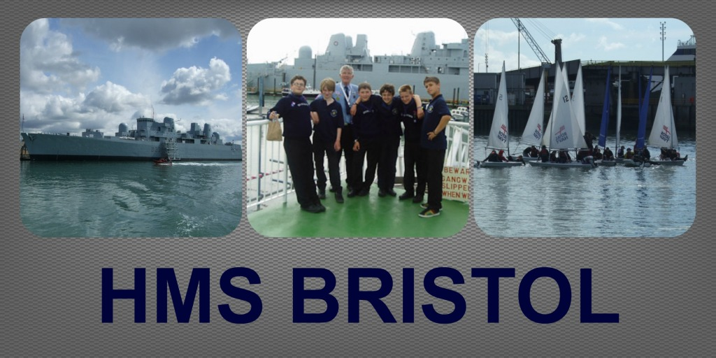 HMS BRISTOL COLLAGE