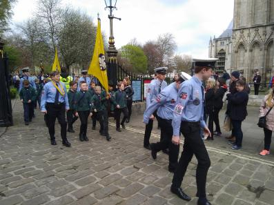 Cubs on parade (1)